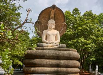 There are many religious facilities near Sigiriya (Sri Lanka)