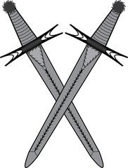Masonic symbol of Master of Ceremonies for Blue Lodge Freemasonry