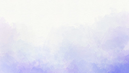 Soft purple abstract watercolor background