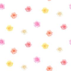 Seamless delicate flower pattern