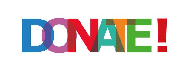 donate label