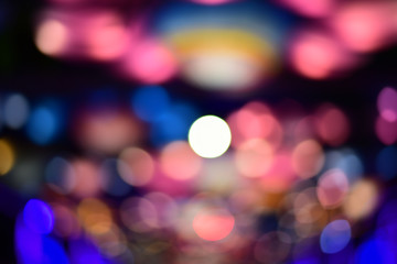 defocused abstract light for background