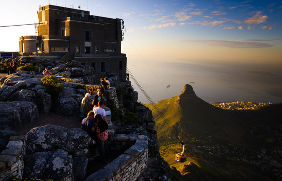 Table Mountain, Lions Head and Robben Island