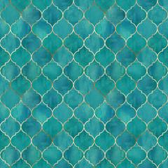 Vintage decorative grunge indian, moroccan seamless pattern