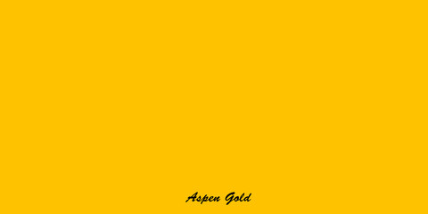 Sunny yellow shade Aspen Gold designed evoke