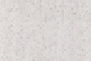 white marble tiles  a mosaic