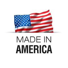 Made in America USA - Label