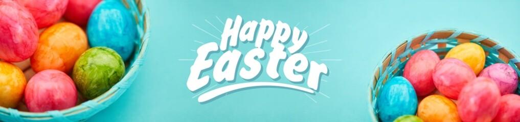 Happy Easter Greetings Panorama Header