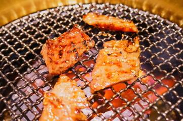 BBQ house meat Bake dinner