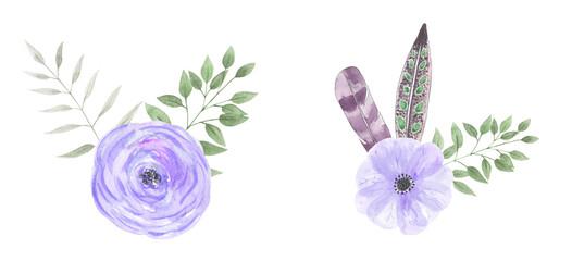 Watercolor flower comp 20