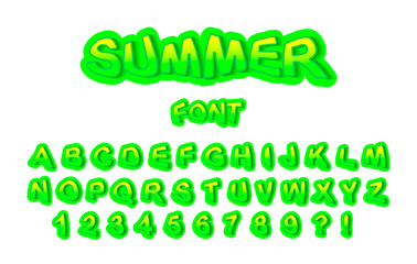 modern youth font for print, logo, emblem. Vector Illustration
