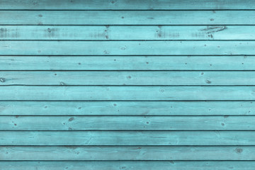Rustic Old Weathered Blue Wood Plank Background