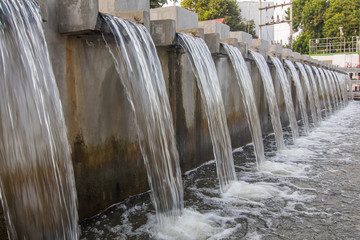 Barrage Drainage and wastewater treatment systems
