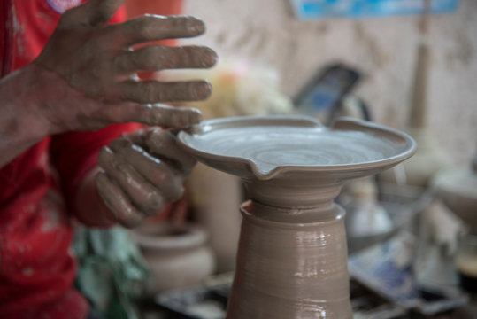Pottery in Fez (Morocco)