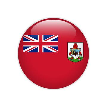 Bermuda flag on button
