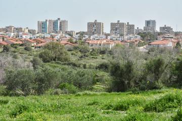 Urban landscape, Ashkelon, Israel