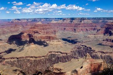Printed kitchen splashbacks Brown view of grand canyon