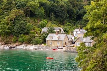Fototapete - Durgan Cornwall England UK