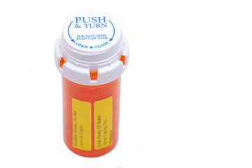 Docusate sodium (dioctyl sodium sulfosuccinate) capsules in orange plastic container with Child-Resistant Push&Turn Cap, Do not chew or crush Drink plenty of water while taking this medicine LABELS.