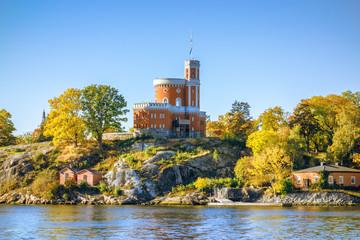 small castle at Stockholm Sweden