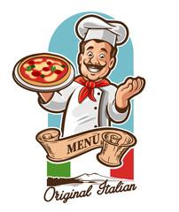 chef pizza italian