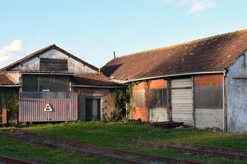 ancienne gare desafectee