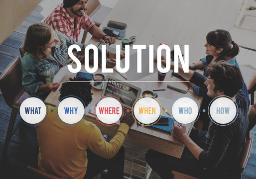 Teamwork with solution concept