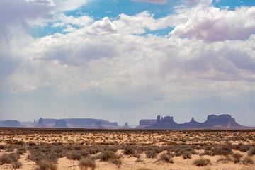 Monument Valley Dust Storm, Arizona Strip, USA