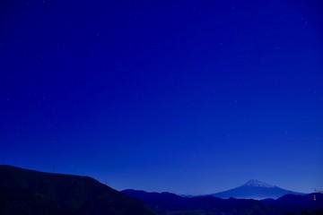 富士山と星の夜~Mt.Fuji and Starry Night.