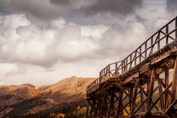 Mining tracks in Colorado
