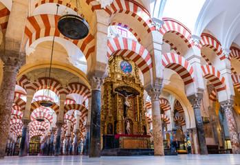 Mosquée cathédrale de Cordoue en Andalousie, Espagne