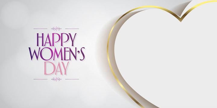 8 March. International Happy Women's Day Celebration. Billboard, Poster, Social Media, Story, Wishes Card, Greeting Card, Trendy Design Template. (TR: 8 Mart Dunya Kadinlar Gununuz Kutlu Olsun.)