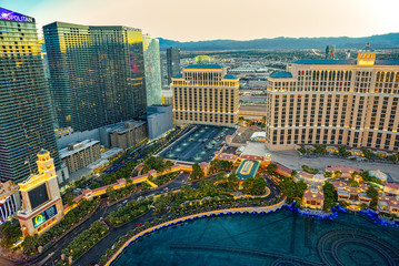 Casino, hotel and resort-Bellagio. Las Vegas.