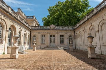 Manor courtyard in Avignon