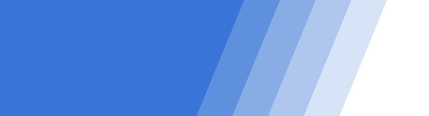Blauer Banner mit Farbübergang aus Streifen Wall mural