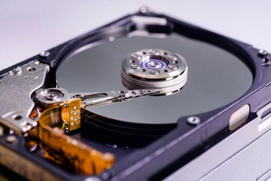 ハードディスクの内部イメージ