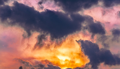 Fantasy abstract sky clouds texture