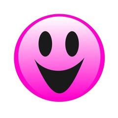 Vector drawing filet emoticon, emoticon, emoticon, smile and happiness.