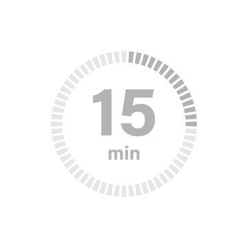Timer sign 15 min