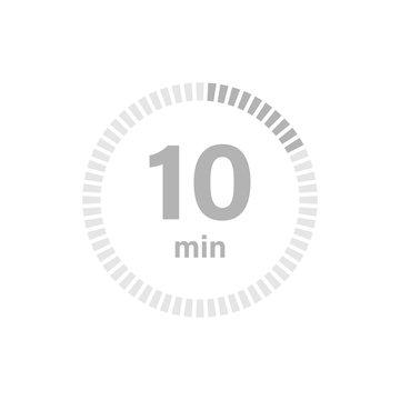 Timer sign 10 min