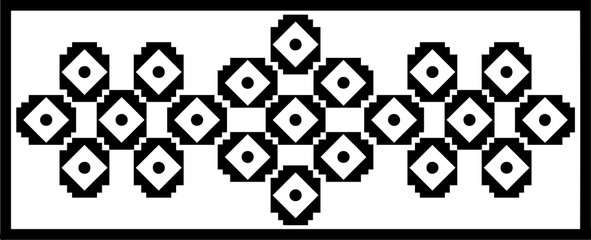 Square and round shaped panel design