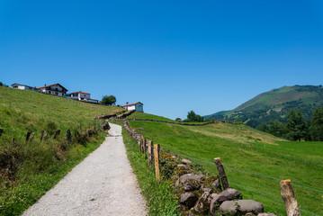 Countryside around Erratzu village, Navarre region, Northern Spain