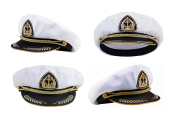 Marine cap in different angles