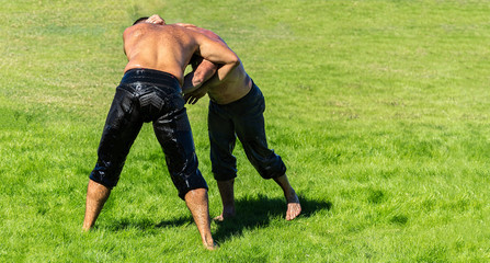 Traditional Turkish Oily Wrestling Championship