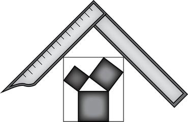 Masonic symbol of Past Worshipful Master for Blue Lodge Freemasonry
