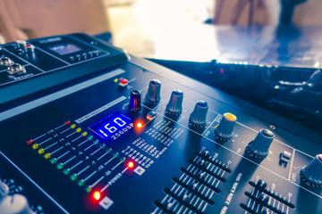 Many audio equipment