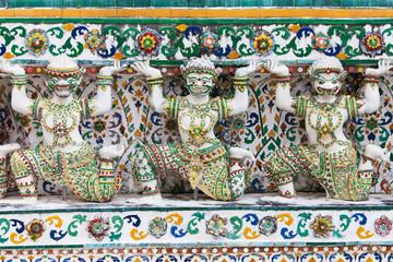 Caryatids of the Wat Arun