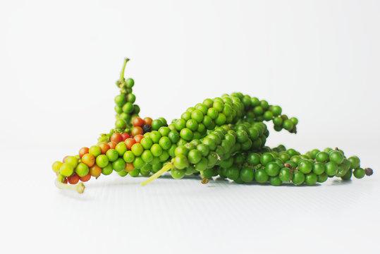 Piper nigrum or fresh spice of Asia