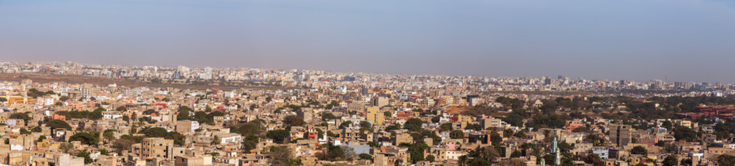 Panoramic view of Dakar, Senegal