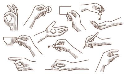 hand gestures set 2